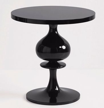 Brocade Home black accent table