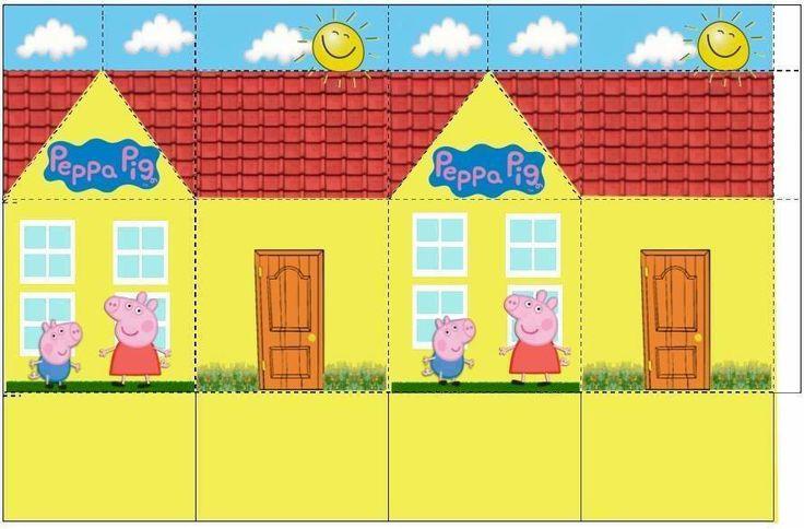 Casinha da Peppa Pig (caixinha)