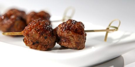 Smoky Korean Meatballs