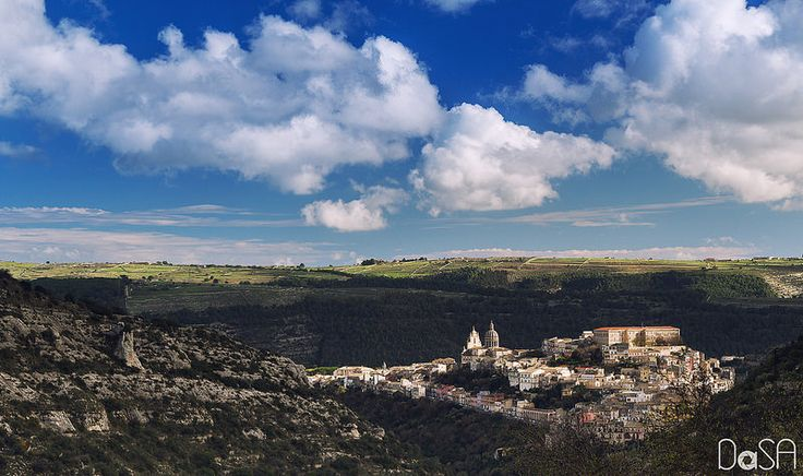 Ragusa Ibla in December