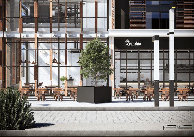 Industrial Restaurant Zenobia. Dubai - https://interiordesign.io/industrial-restaurant-zenobia-dubai/