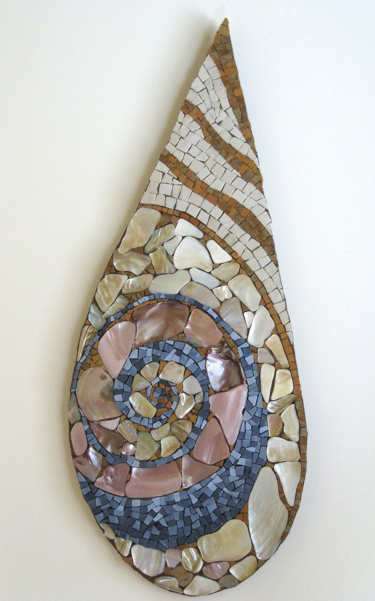 Drops Series: Oh, Jetty - Julie Richey Mosaics