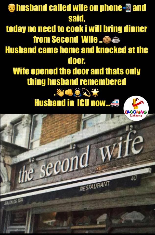 awesome Have you been to the second wife restaurant?