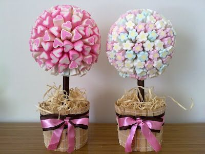 Sonho Mágico Festas: Topiaria de Marshmallow