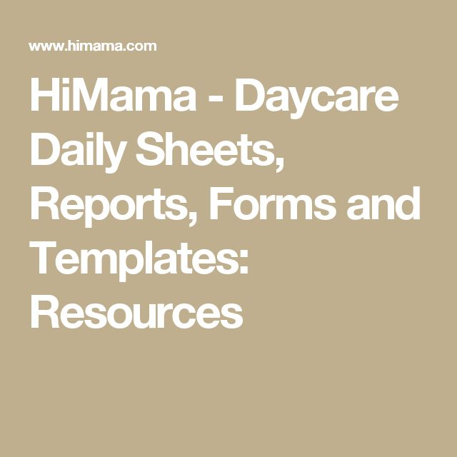 Best 25+ Daycare daily sheets ideas on Pinterest Infant daily - daily report templates