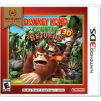 Nintendo Selects: Donkey Kong Country Returns 3D - Nintendo 3DS - Front Zoom