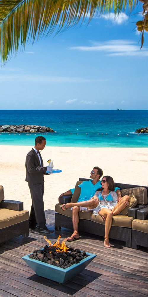 0bad5864f You re one sip closer to  paradise.🍹📍 Sandals LaSource Grenada.