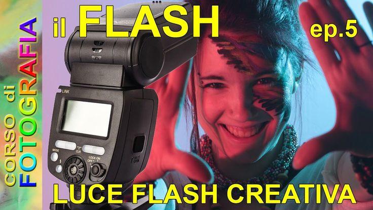 Corso di fotografia -  Fotografare con il flash ep.5, come usare il flas...