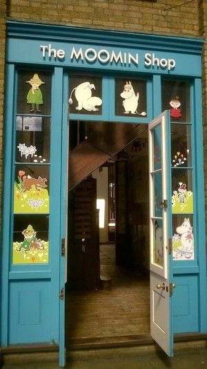The Moomins Shop London. OOOHHHH