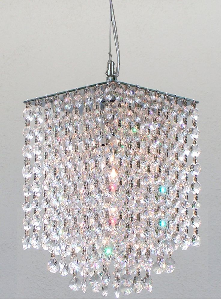 Modern Mini Rectangular Chandelier > $88.58 Crystal, 1 Light - http://chandeliertop.com/modern-mini-rectangular-chandelier-88-58-crystal-1-light/
