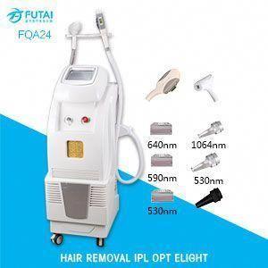 FQA24 2 EN 1 OPT SHR IPL ND YAG LASER épilation détatouage beauté machine …   – tattoo removal