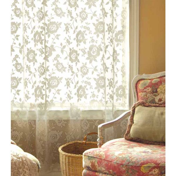 13 best Lace Curtains images on Pinterest | Curtains, Lace ...