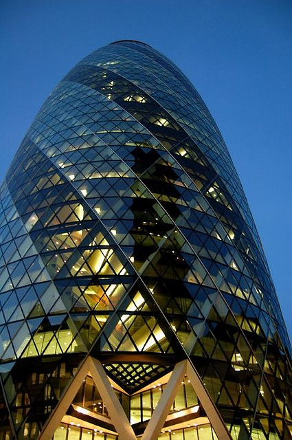 30 St Mary Axe (The Gherkin), London | Norman Foster