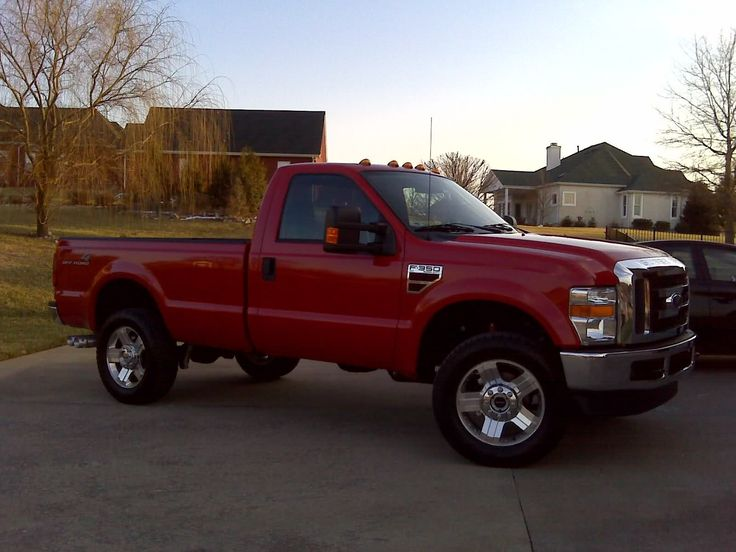 Single cab F250/350 pics? - Ford Truck Enthusiasts Forums