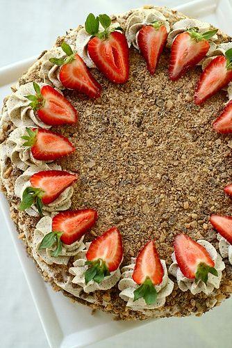 toffee brownie torte