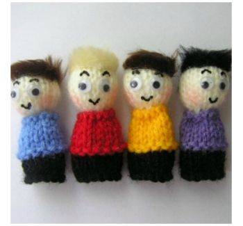The Wiggles Finger Puppets