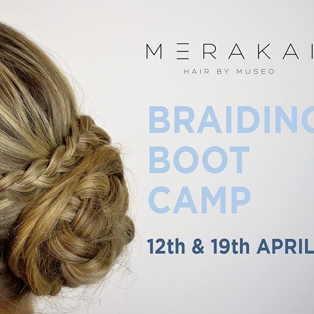 Merakai Hair by Museo are holding 2 Braiding Boot Camp's during the school holidays! If your Tween or Teen would love to come and spend 3 hours with us learning how to plait, fishtail, french braid, waterfall and more, we would love to have them in salon! Check out all the details on the website > > or call 9371 2299 to book! #merakai #hairbymuseo #braiding #schoolholidays #bootcampperth #perthbeautician #perthbride #perthbeauty #perthlife #perthhair #perthisgreat #westisbest #braid…