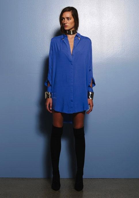 Purple Haze L/S Dress . Something Else