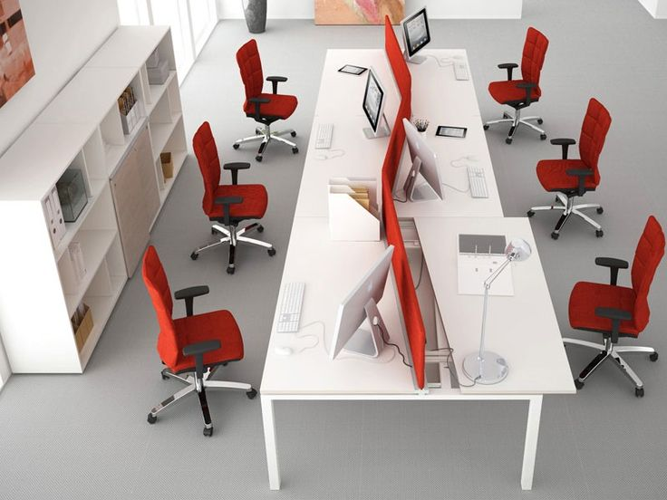 Modular Office Systems Asterisco In Task Desk 6
