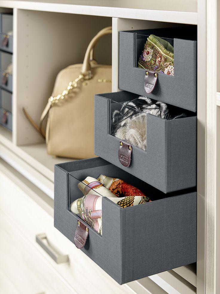 Ideal Mit herausnehmbaren CARTA Boxen haben T cher Accessoires u Co immer genug Platz