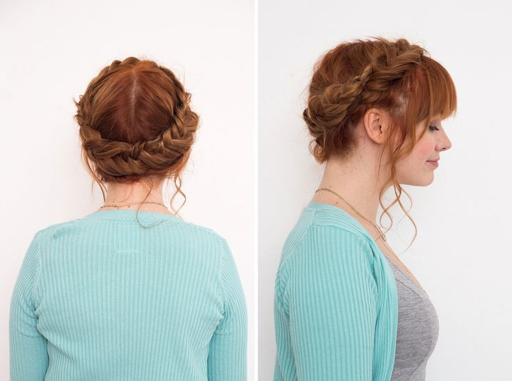 Try this next level crown braid inspired by Star Wars.