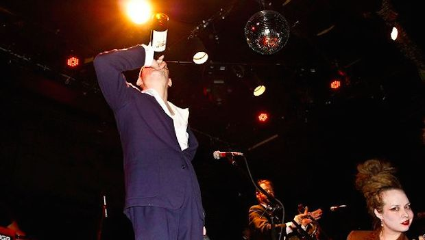 LIVE MUSIC : The World / Inferno Friendship Society – O2 ABC2, Glasgow - http://gigsoup.co/1GtGePWorld/Inferno F.S.fs