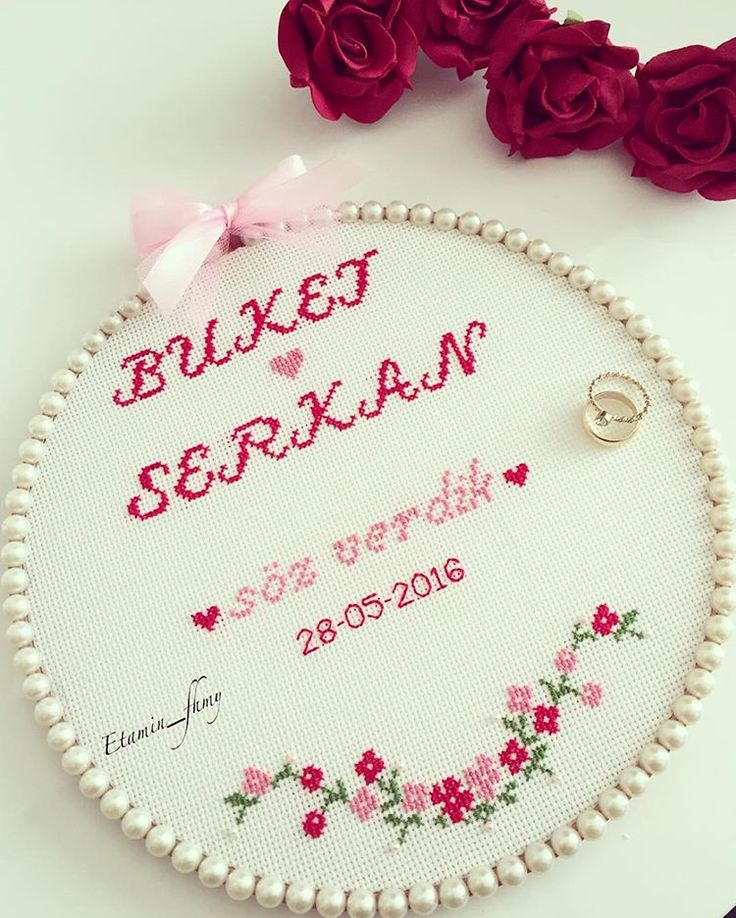 ❤️ #etamin#kanavice#crossstitch #kruissteek#borduurwerk#askpanosu#söztepsisi#nisantepsisi#düğüntepsisi#söz#nisan#kina#dügün#dugundernek#love#ask#liefde#madebyme#withlove