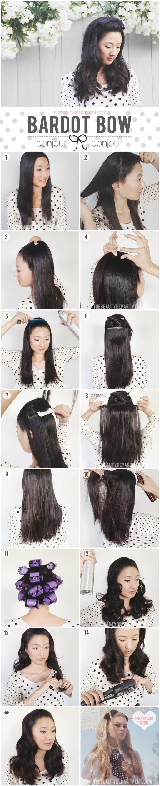 BRIGITTE BARDOT INSPIRED HAIR