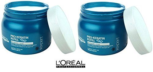 Pack Pro Keratin 2 2x Masque Mask Mascarilla Keratina 500ml Serie Expert Loreal Shipping Fast * Want additional info? Click on the image.(This is an Amazon affiliate link and I receive a commission for the sales)