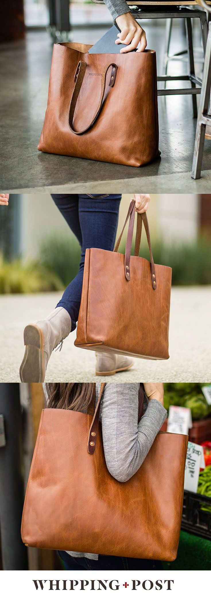 A solidly built tote bag is an everyday staple. Day, night, travel, errands - the Whipping Post Vintage Tote bag embodies utility.