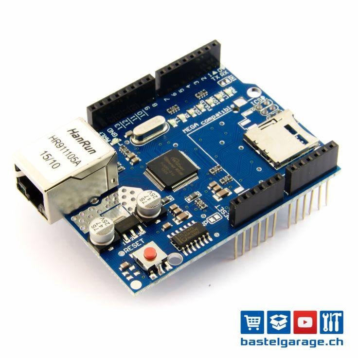 Ethernet Shield SPI W5100 für Arduino