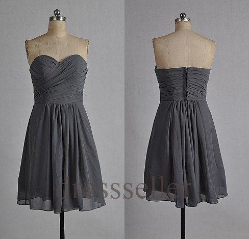 Custom Short Bridesmaid Dresses 2014 Simple Cheap by Tinadress, $62.00