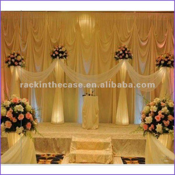 Pillars For Weddings Altar Decorations: 1000+ Ideas About Wedding Columns On Pinterest
