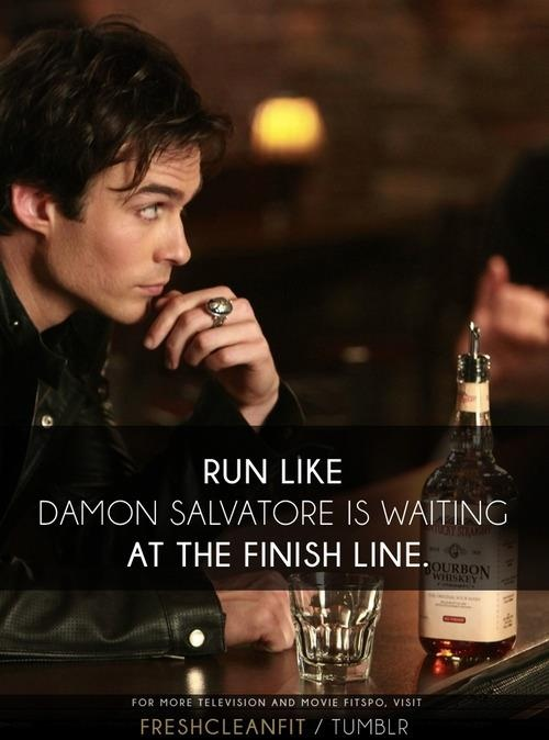 I took this to heart for my inspiration today, and guess who just ran 3 miles in 25 min.? That is right me. Thanks Ian!