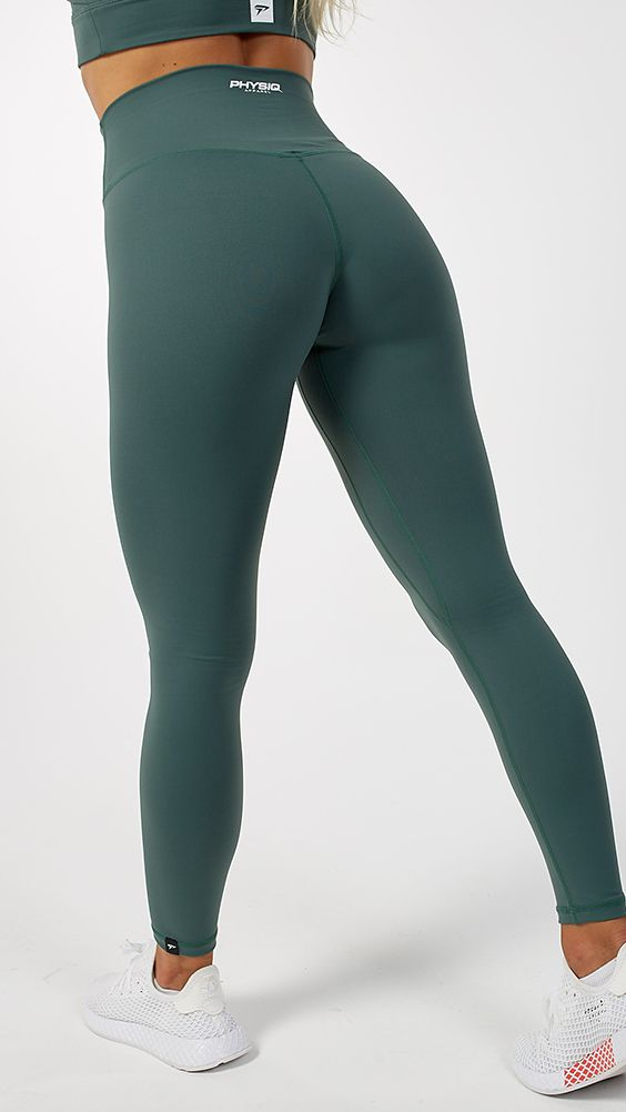 info for ed1d3 0d9bb Divine Leggings - Hunter Green nel 2019 | tute aderenti ...