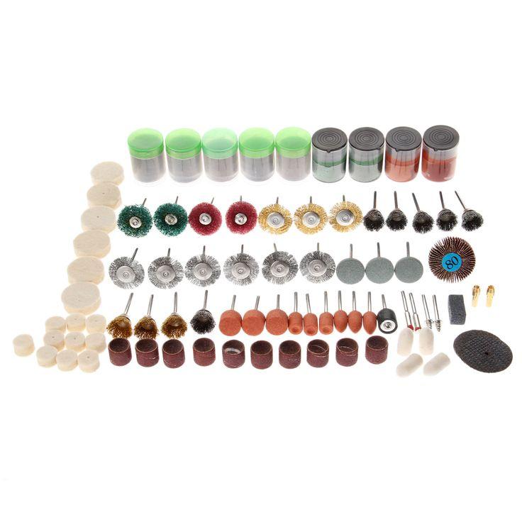 $26.65 (Buy here: https://alitems.com/g/1e8d114494ebda23ff8b16525dc3e8/?i=5&ulp=https%3A%2F%2Fwww.aliexpress.com%2Fitem%2F262Pcs-set-Dremel-Rotary-Tool-Accessory-Set-Fit-Cutting-Grinding-Sanding-Polishing-Dremel-Tool-Dremel-Accessories%2F32734423425.html ) 262Pcs/set Dremel Rotary Tool Accessory Set Fit Cutting Grinding Sanding Polishing Dremel Tool Dremel Accessories 1/8 Inch Shank for just $26.65