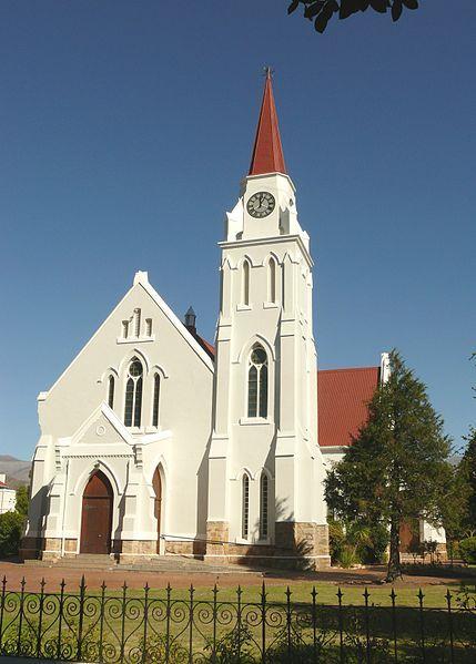 Die gebou van die NG gemeente Goudini, op Rawsonville.