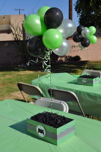 "Xbox Party Ideas | ... of 11: XBox Theme / Birthday ""Boys Birthday Party"" | Catch My Party"