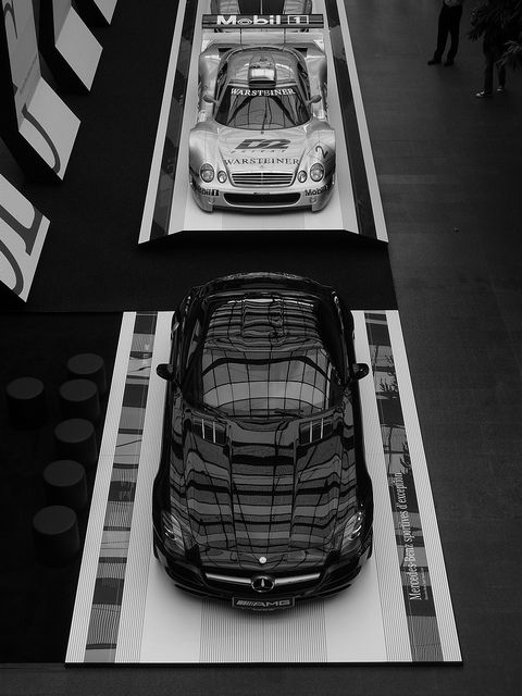 Mercedes-Benz SLS AMG, the latest in a line of automotive legends.