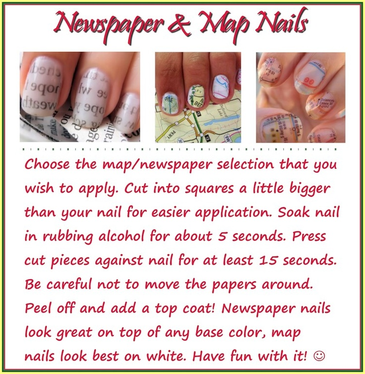 Fun nail tricks