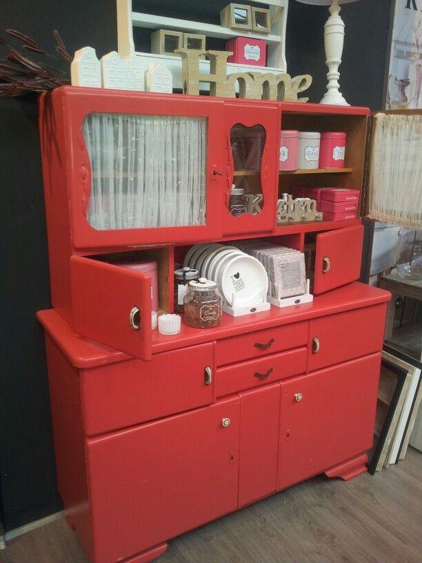 Keukenkast.. jaren 50 wish i had one like this