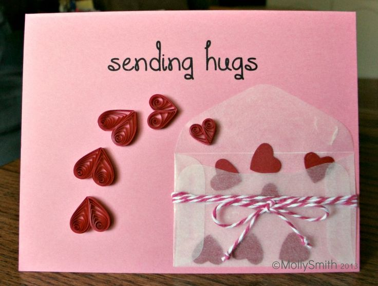 Quilled Hearts ~ DIY Valentine's Day Cards
