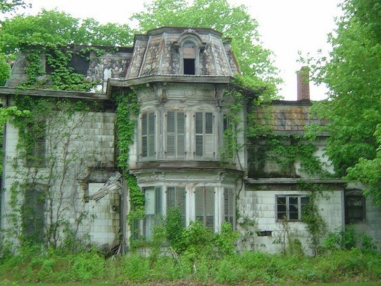 You've inherited a decrepit old house from the great-uncle the family wont talk about. Write about what you found inside the house.