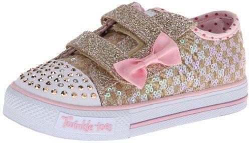 Skechers Kids 10284N Twinkle Toes Sweet Steps Lighted Sneaker,Gold/Pink,9 M US Toddler Skechers Kids http://www.amazon.com/dp/B00GUN007O/ref=cm_sw_r_pi_dp_1UTsub1HTRP1R