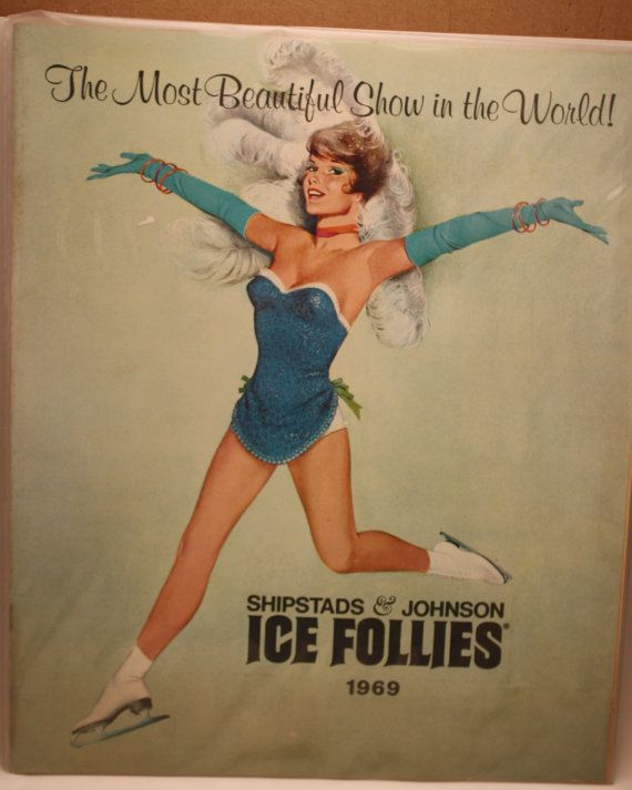 Vintage Shipstads and Johnson Ice Follies by BeachArtbychrissie, $10.00