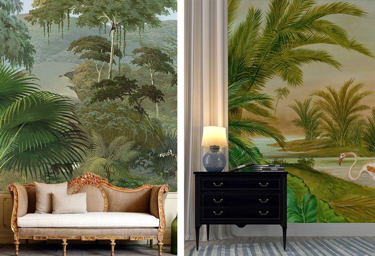 78 id es propos de salons tropicales sur pinterest for Deco sejour tropical