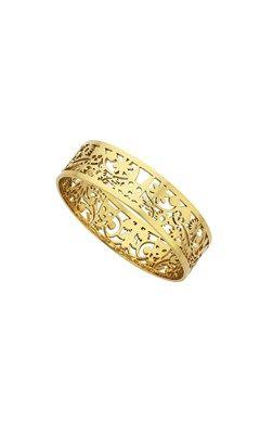 Karen Walker Jewellery Narrow Filigree gold bangle www.karenwalker.com