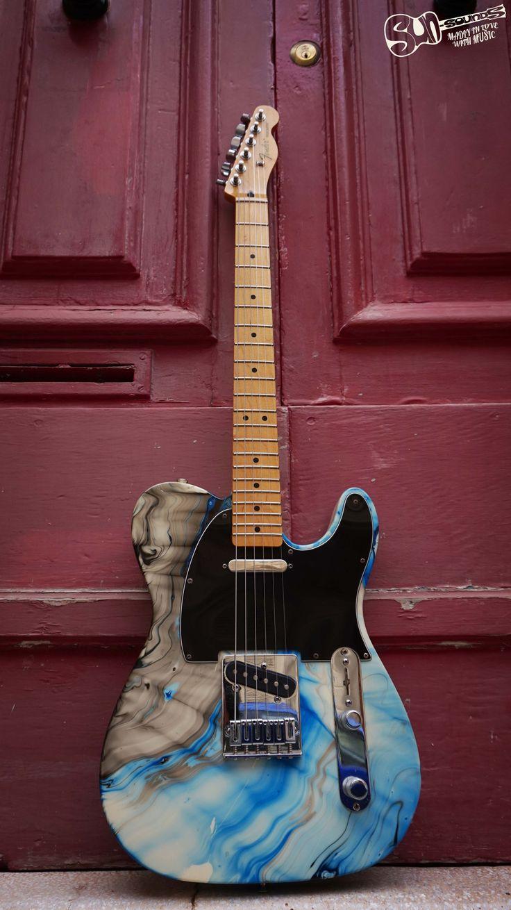 Fender Standard Telecaster Swirl MiM