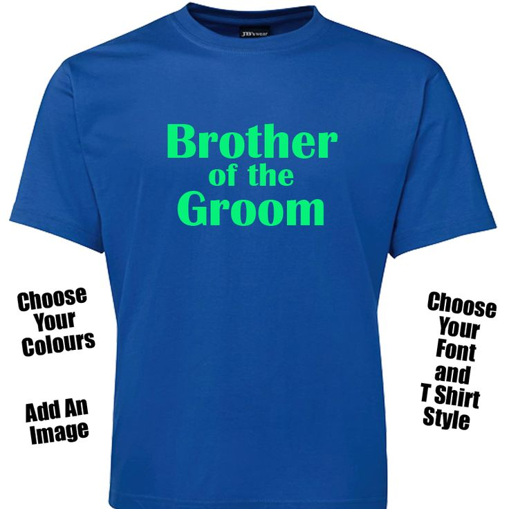 Brother of the Groom T Shirt