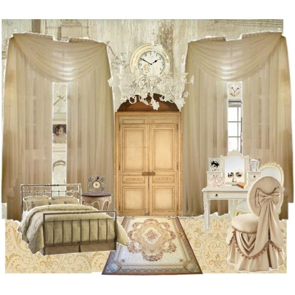 parisian bedroom.  Parisian Bedroom by kittyy on Polyvore The 25 best bedroom ideas Pinterest Paris apartment
